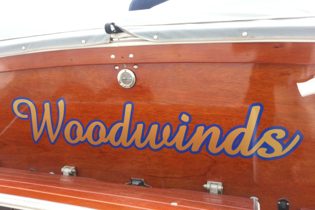 Woodwinds Boat Name