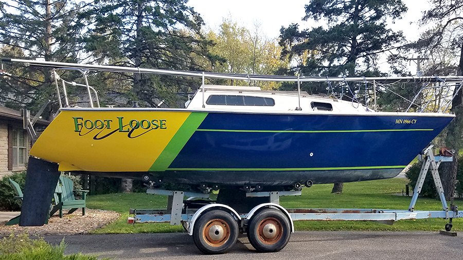 Foot Loose Boat Name